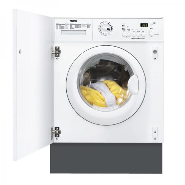 Zanussi ZWT71201WA 7kg Wash 4kg Dry Integrated Washer Dryer